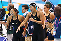 2012 Olympic Games - Swimming - Women's 4x200m Freestyle Relay Heat