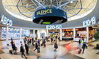 Photography inside of the terminal areas at the Charlotte Douglas International Airport in Charlotte, NC.<br /> <br /> Charlotte Photographer - PatrickSchneiderPhoto.com