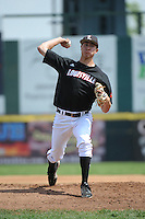 University of Louisville Cardinals pitcher Jared Ruxer (40) during a game against the Temple University Owls at Campbell's Field on May 10, 2014 in Camden, New Jersey. Temple defeated Louisville 4-2.  (Tomasso DeRosa/ Four Seam Images)