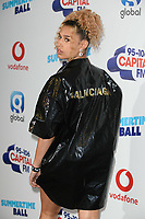 Raye<br /> in the press room for the Capital Summertime Ball 2018 at Wembley Arena, London<br /> <br /> ©Ash Knotek  D3407  09/06/2018