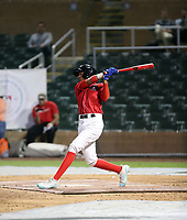 Anderson Machado participates in the MLB International Showcase at Salt River Fields on November 12-14, 2019 in Scottsdale, Arizona (Bill Mitchell)