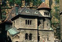 Tschechien, Prag, alter juedischer Friedhof, Zeremonienhalle, Unesco-Weltkulturerbe