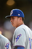 South Bend Cubs shortstop Bryant Flete (13) before a game against the Dayton Dragons on May 11, 2016 at Fifth Third Field in Dayton, Ohio.  South Bend defeated Dayton 2-0.  (Mike Janes/Four Seam Images)
