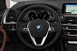 Car pictures of steering wheel view of a 2018 BMW X3 xLine-4wd 5 Door SUV Steering Wheel