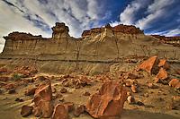 Bisti Badlands - New Mexico - Bisti Wilderness