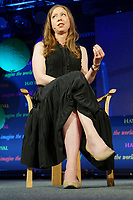 Pictured: Chelsea Clinton.<br /> Re: Hay Festival at Hay on Wye, Powys, Wales, UK. Saturday 02 June 2018
