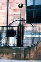 C.R. Mackintosh: Glasgow School of Art. Detail of ironwork.