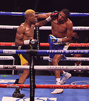MINNEAPOLIS, MN - JUNE 27: Nathaniel Gallimore (22-5-1, 17 KOs) defeated Leon Lawson (14-1, 7 KOs) on the Fox Sports PBC fight at The Armory on June 27, 2021 in Minneapolis, Minnesota. (Photo by Carlos Gonzalez/Fox Sports/PictureGroup)