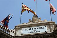 Spanien, Barcelona, Museo de Cera (Wachsmuseum) Pasatgge de la Banca 7 , bei der Rambla