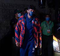 SAN PEDRO SULA, HONDURAS - SEPTEMBER 8: Ricardo Pepi #14 of the United States enters the stadium before a game between Honduras and USMNT at Estadio Olímpico Metropolitano on September 8, 2021 in San Pedro Sula, Honduras.
