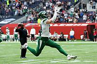 10th October 2021; Tottenham Hotspur stadium, London, England; NFL UK Series, Atlanta Falcons versus New York Jets: New York Jets Defensive back Ashtyn Davis (21) during the warm up