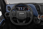 Car pictures of steering wheel view of a 2020 Iveco Daily C 2 Door Van Box Steering Wheel