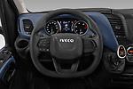 Car pictures of steering wheel view of a 2020 Iveco Daily C 2 Door Van Box Steering Wheel