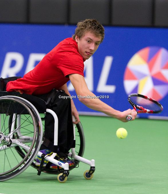 17-12-10, Tennis, Rotterdam, Reaal Tennis Masters 2010,     Rody de Bie