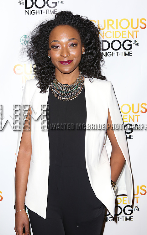 Keren Dukes attends the Broadway Opening Night Performance After Party for 'The Curious Incident of the Dog in the Night-Time'  at Urbo on October 5, 2014 in New York City.