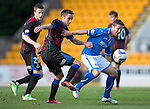 St Johnstone v Inverness Caledonian Thistle...05.10.13      SPFL<br /> Chris Millar and Nick Ross<br /> Picture by Graeme Hart.<br /> Copyright Perthshire Picture Agency<br /> Tel: 01738 623350  Mobile: 07990 594431