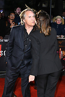 """LONDON, UK. October 08, 2019: Don Johnson and Ana de Armas arriving for the """"Knives Out"""" screening as part of the London Film Festival 2019 at the Odeon Leicester Square, London.<br /> Picture: Steve Vas/Featureflash"""