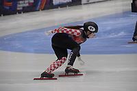 SPEEDSKATING: DORDRECHT: 05-03-2021, ISU World Short Track Speedskating Championships, Heats 1000m Ladies, Valentina Ascic (CRO), ©photo Martin de Jong