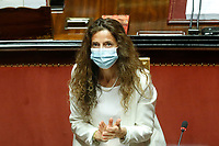 The Undersecretary to the presidency of the council  Assuntela Messina during the information at the Senate about the violence in the prison of Santa Maria Capua Vetere<br /> Rome (Italy), July 21st 2021<br /> Photo Samantha Zucchi Insidefoto