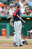 Alex Liddi #10 of the Tacoma Rainiers plays in a Pacific Coast League game against the Tucson Padres  at Kino Stadium on June 4, 2011  in Tucson, Arizona. .Photo by:  Bill Mitchell/Four Seam Images.