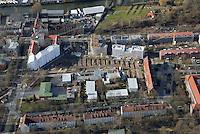 Welt-Gewerbehof Wilhelmsburg IBA Hamburg 2013: EUROPA, DEUTSCHLAND, HAMBURG, (EUROPE, GERMANY), 02.02.2013: Am suedlichen Rand des Weltquartiers, einer ehemaligen Arbeitersiedlung aus den 30er Jahren, entsteht derzeit auf einer Flaeche von rund 6.700 m² eines der groessten gewerblichen Projekte der IBA Hamburg: der Welt-Gewerbehof.