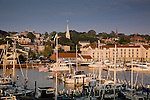 Newport waterfront, Newport, Narragansett Bay, RI, USA