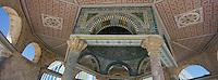 Asie/Israël/Judée/Jérusalem: Esplanade du Dome- Haram el-Chérif - détail intérieur du Dôme de la Chaîne
