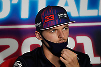 9th September 2021; Nationale di Monza, Monza, Italy; FIA Formula 1 Grand Prix of Italy, Driver arrival and inspection day:  Max Verstappen NED, Red Bull Racing