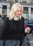 "Pic shows: Joely Richardson<br /> <br /> <br /> Funeral of Roger Lloyd-Pack - ""Trigger"" from Only Fools and Horses.<br /> <br /> Mourners arriving at the service at Actors Church in Covent Garden -<br /> <br /> <br /> <br /> <br /> Pic by Gavin Rodgers/Pixel 8000 Ltd"