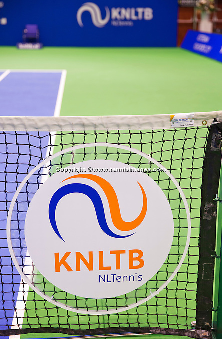 December 18, 2014, Rotterdam, Topsport Centrum, Lotto NK Tennis, KNLTB logo<br /> Photo: Tennisimages/Henk Koster