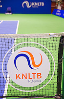 December 18, 2014, Rotterdam, Topsport Centrum, Lotto NK Tennis, KNLTB logo<br /> Photo: Tennisimages/Henk Koster