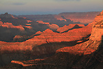 Sunset in Grand Canyon National Park, Arizona .  John offers private photo tours in Grand Canyon National Park and throughout Arizona, Utah and Colorado. Year-round.