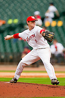 Starting pitcher Codey Morehouse #5 of the Houston Cougars in action against the Baylor Bears at Minute Maid Park on March 4, 2011 in Houston, Texas.  Photo by Brian Westerholt / Four Seam Images
