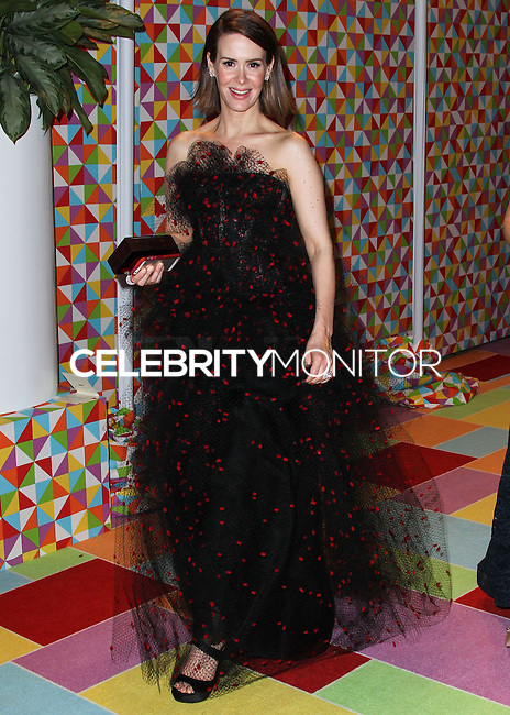 WEST HOLLYWOOD, CA, USA - AUGUST 25: Sarah Paulson at HBO's 66th Annual Primetime Emmy Awards After Party held at the Pacific Design Center on August 25, 2014 in West Hollywood, California, United States. (Photo by Xavier Collin/Celebrity Monitor)