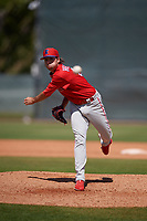 Philadelphia Phillies pitcher Jonathan Hennigan (51) during a Minor League Spring Training game against the Toronto Blue Jays on March 29, 2019 at the Carpenter Complex in Clearwater, Florida.  (Mike Janes/Four Seam Images)