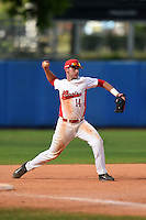 Illinois State Redbirds Paul DeJong (14) during a game against the Bowling Green Falcons on March 11, 2015 at Chain of Lakes Stadium in Winter Haven, Florida.  Illinois State defeated Bowling Green 8-7.  (Mike Janes/Four Seam Images)