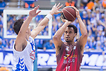 San Pablo Burgos John Jenkins during Liga Endesa match between San Pablo Burgos and Gipuzkoa Basket at Coliseum Burgos in Burgos, Spain. December 30, 2017. (ALTERPHOTOS/Borja B.Hojas)