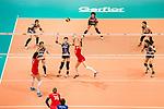 Setter Tatiana Romanova of Russia (C) pass during the FIVB Volleyball World Grand Prix match between Japan vs Russia on 23 July 2017 in Hong Kong, China. Photo by Marcio Rodrigo Machado / Power Sport Images