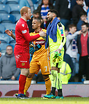 Keepers Craig Samson and Wes Foderingham at full-time