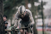 Mathieu van der Poel (NED/Corendon-Circus) <br /> <br /> Elite Men's race<br /> GP Sven Nys / Belgium 2018