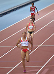 Wales' Rachel Johncock runs in the 4x100m relay round 1 - heat 2<br /> <br /> Photographer Chris Vaughan/Sportingwales<br /> <br /> 20th Commonwealth Games - Day 9 - Friday 1st August 2014 - Athletics - Hampden Park - Glasgow - UK