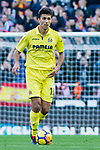 Rodrigo Hernandez Cascante, Rodri, of Villarreal CF in action during the La Liga 2017-18 match between Valencia CF and Villarreal CF at Estadio de Mestalla on 23 December 2017 in Valencia, Spain. Photo by Maria Jose Segovia Carmona / Power Sport Images