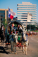 trailriders traveling to the Houston Livestock Show and Rodeo