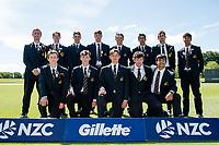 Hamilton Boys High School during the Gillette Cup Finals, Hagley Park, Christchurch, New Zealand. 5th December 2019. Photo: John Davidson, www.bwmedia.co.nz