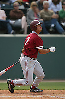 April 3 2010: Tyler Gaffney of the Stanford Cardinal during game against the UCLA Bruins at UCLA in Los Angeles,CA.  Photo by Larry Goren/Four Seam Images