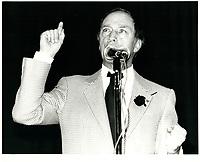 Pierre Trudeau  , 19 octobre 1979<br /> <br /> PHOTO : agence quebec presse
