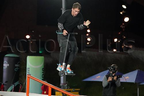 8th November 2020; Parc del Forum, Barcelona, Catalonia, Spain; Imagin Extreme Barcelona;  Richard Zelinka (CZE) during Scooter mens street semifinal