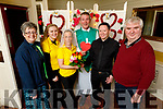 """Launch of the """"Say I Do"""" Valentines night wedding fundraiser for the Kerry Cancer Support Group in the Brogue Inn on Monday. <br /> L to r: Breda Dyland (Kerry/Cork Cancer Group), Donna Quirke (Bridesmaid), Noreen O'Mahoney (Bride), Most Rev Vincent Murphy (Celebrant), Austin Fitzmaurice (Groom) and Dan Horan (Kerry/Cork Cancer Group)"""