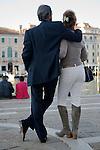 Italian couple Venice Italy 2009.