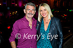 Enjoying the evening in Killarney on Saturday, l to r: James Kelly and Phildelma O'Carroll from Tralee.